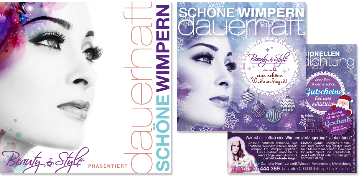 Flyer Beauty Style von Daniela Franz
