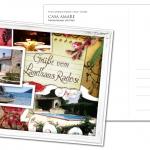 Postkarte Casa Amare by Daniela Franz