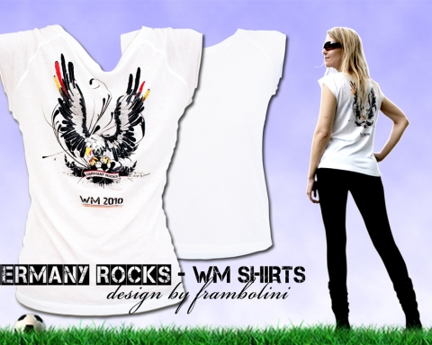 germany rocks wm shirts by daniela franz